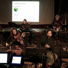 Ensemble SuperMusique (ESM) [Photograph: Céline Côté, Montréal (Québec), February 23, 2020]