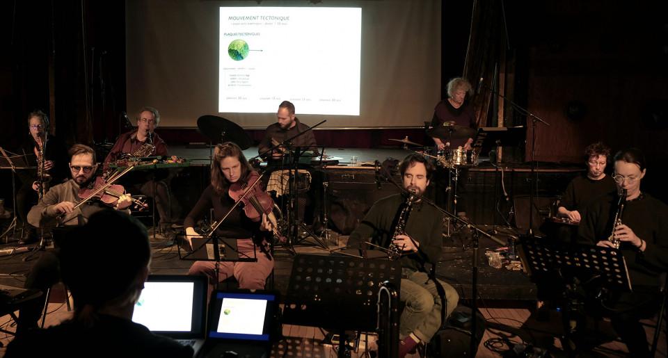 Ensemble SuperMusique (ESM) [Photo: Céline Côté, Montréal (Québec), 23 février 2020]