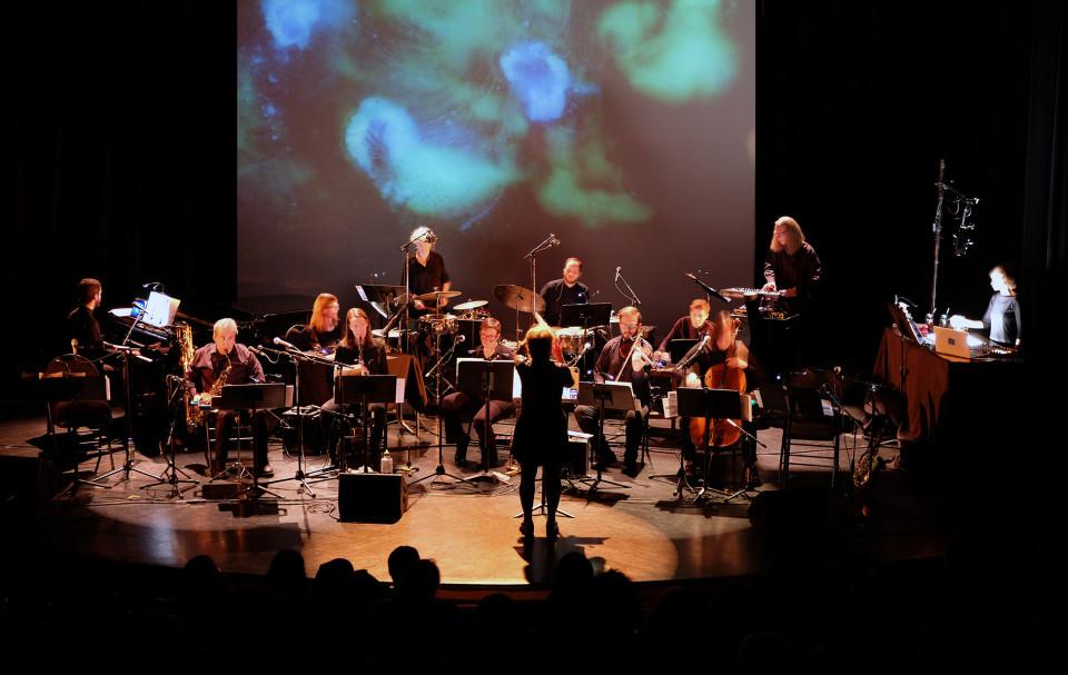 Ensemble SuperMusique (ESM) [Photo: Céline Côté, Montréal (Québec), November 27, 2019]