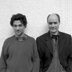 René Lussier, Gilles Gobeil [Photo: Luc Beauchemin, Montréal (Québec), August 2003]