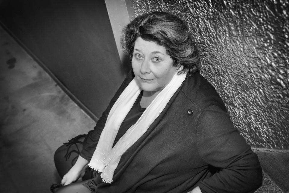 Christine Groult [Photo: Bea Borgers, Brussels (Belgium), October 27, 2018]