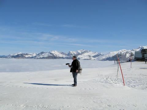 Jonty Harrison [Photo: Alison Warne, Samoëns (Haute-Savoie, France), April 5, 2007]