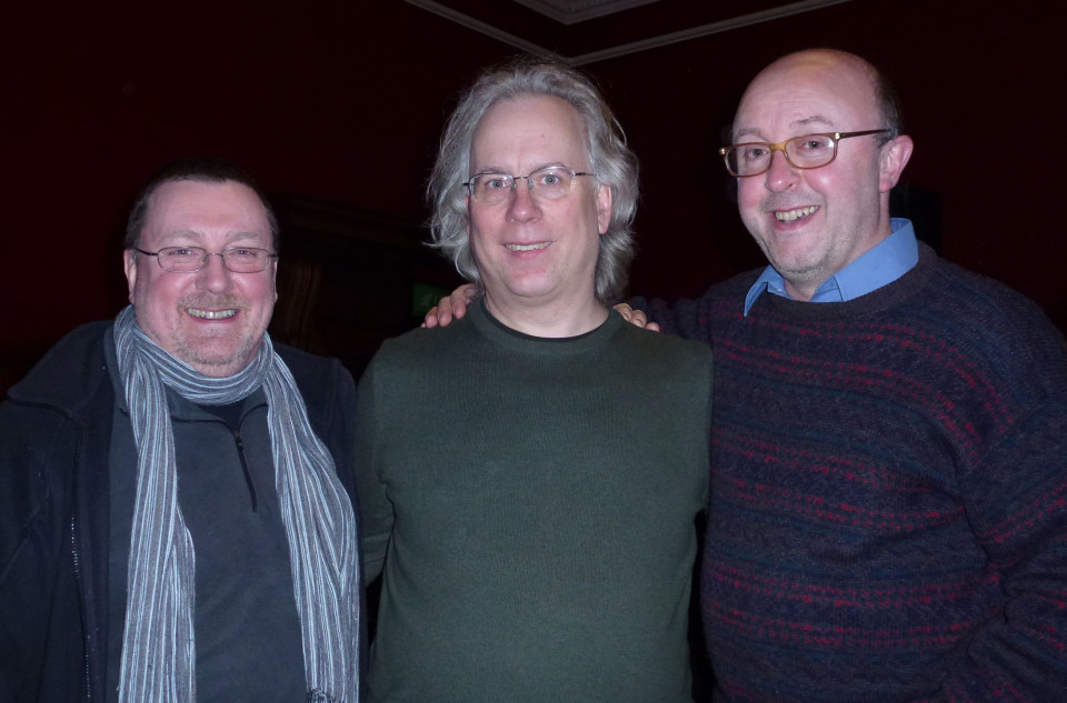 Jonty Harrison, Robert Dow, Adrian Moore [Edinburgh (Scotland, UK), February 9, 2013]