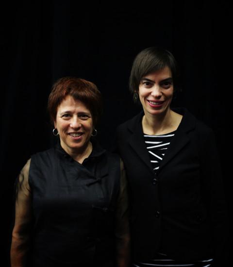 Joane Hétu, Manon De Pauw [Photograph: Robin Pineda Gould, Montréal (Québec), November 14, 2013]