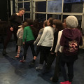 Jeux de voix et mouvements sous la direction de Joane Hétu [Photo: Cléo Palacio-Quintin, Montréal (Québec), 13 novembre 2018]
