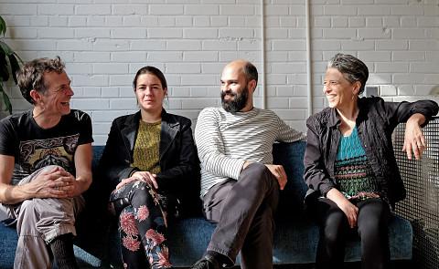 Hmmh, Carl Ludwig Hübsch, Émilie Mouchous, Pierre-Yves Martel, Joane Hétu [Photo: Céline Côté, 22 octobre 2017]