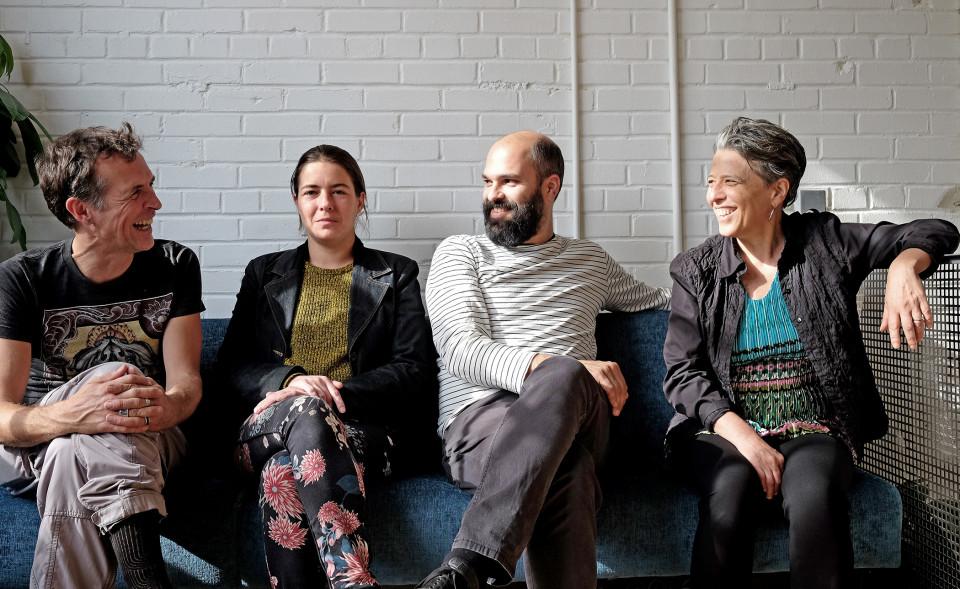 Hmmh, Carl Ludwig Hübsch, Émilie Mouchous, Pierre-Yves Martel, Joane Hétu [Photo: Céline Côté, October 22, 2017]