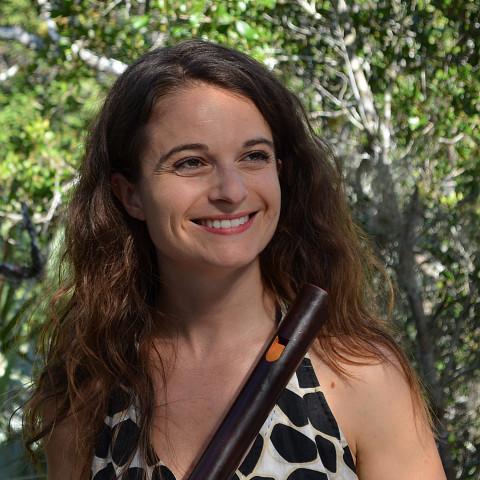 Terri Hron [Photo: Lucia Aratanha Lund, New Smyrna Beach (Florida, USA), 2013]