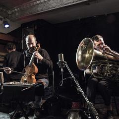 Philip Zoubek, Pierre-Yves Martel, Carl Ludwig Hübsch [Photo: Céline Côté, Montréal (Québec), 20 octobre 2016]