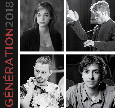 Poster of the Génération2018 tour presented by ECM+