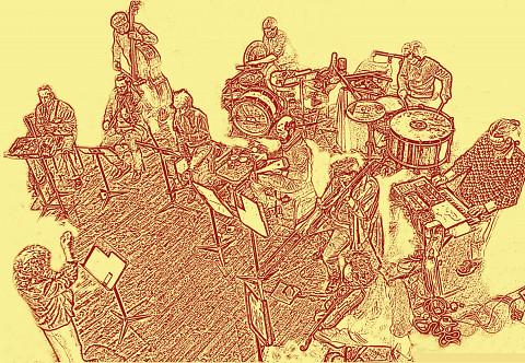 Illustration d'après une photo de Céline Côté [Image: Céline Côté]