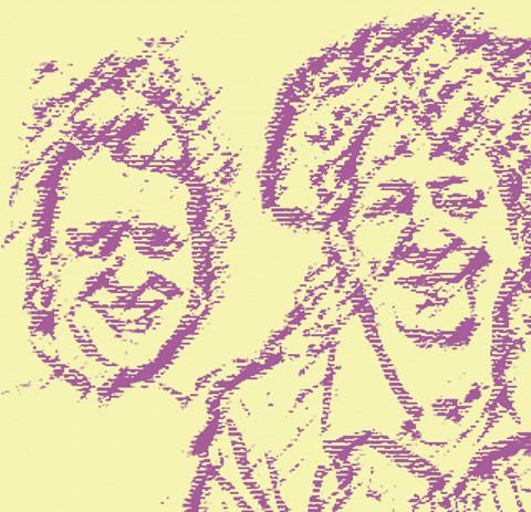 Illustration from a photo by Céline Côté [Image: Céline Côté]
