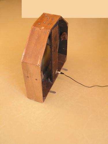 Ondes Martenot, 1976 (7th generation since 1928; 1st generation with transistors); Suzanne Binet-Audet's instrument. 29/38 [Photo: Luc Beauchemin, Boucherville (Québec), April 2005]