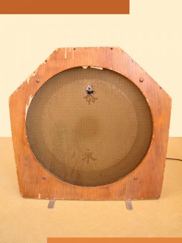 Ondes Martenot, 1976 (7e génération depuis 1928; 1e génération transistorisée); instrument de Suzanne Binet-Audet. 38/38 [Photo: Luc Beauchemin, Boucherville (Québec), avril 2005]