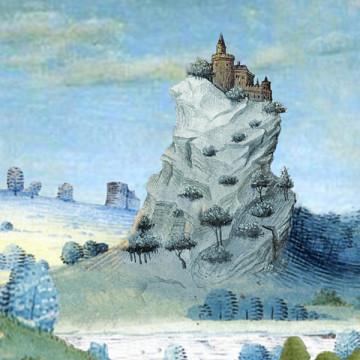 Illustration for the work Mont des borgnes by Dominique Bassal [Image: Luc Beauchemin, March 2009]