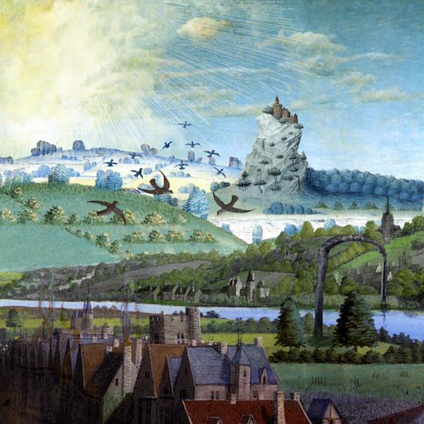 Illustration pour le disque Ubiquité de Dominique Bassal [Image: Luc Beauchemin, mars 2009]