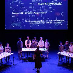 Groupe 222 dirigé par Magali Babin [Photo: Céline Côté, Montréal (Québec), 18 juin 2019]