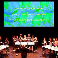 Groupe 221 dirigé par Danielle Palardy Roger [Photo: Céline Côté, Montréal (Québec), 18 juin 2019]