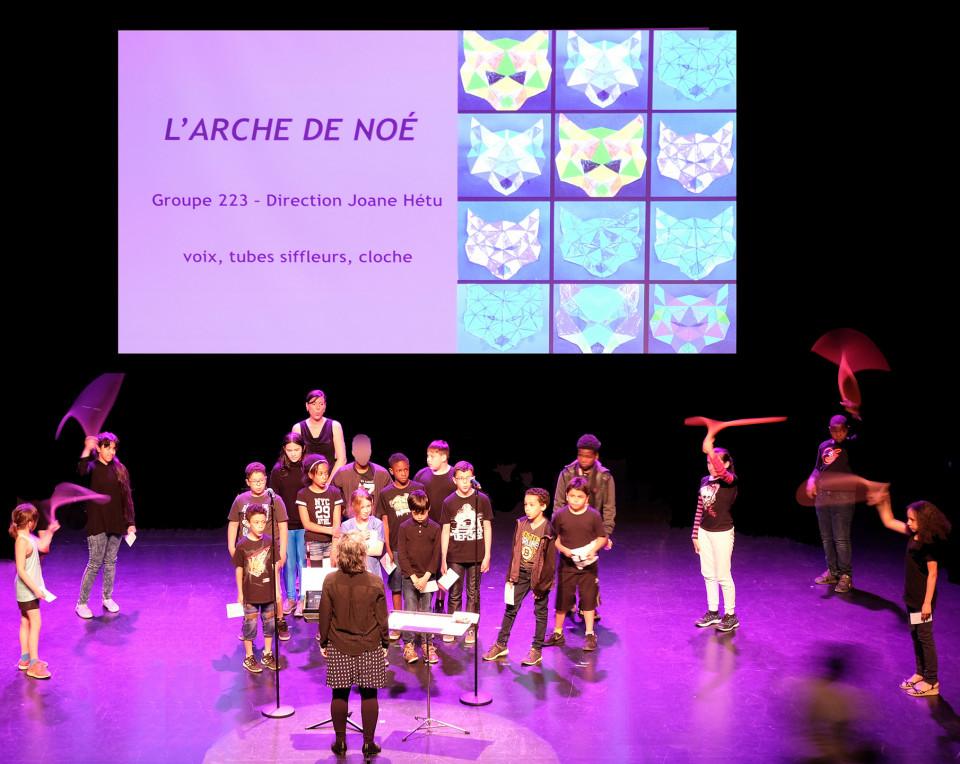Group 223 directed by Joane Hétu [Photograph: Céline Côté, Montréal (Québec), June 18, 2019]