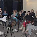 The choir Chorale Joker in rehearsal [Photograph: Céline Côté, Montréal (Québec), December 6, 2012]