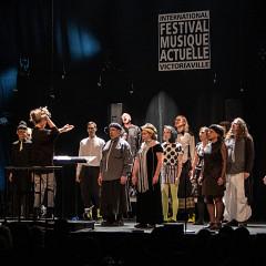 Joker_LesLucioles: Tableau 2 — Résistance, sous la direction de Danielle Palardy Roger [Photo: Martin Morissette, Victoriaville (Québec), 19 mai 2019]