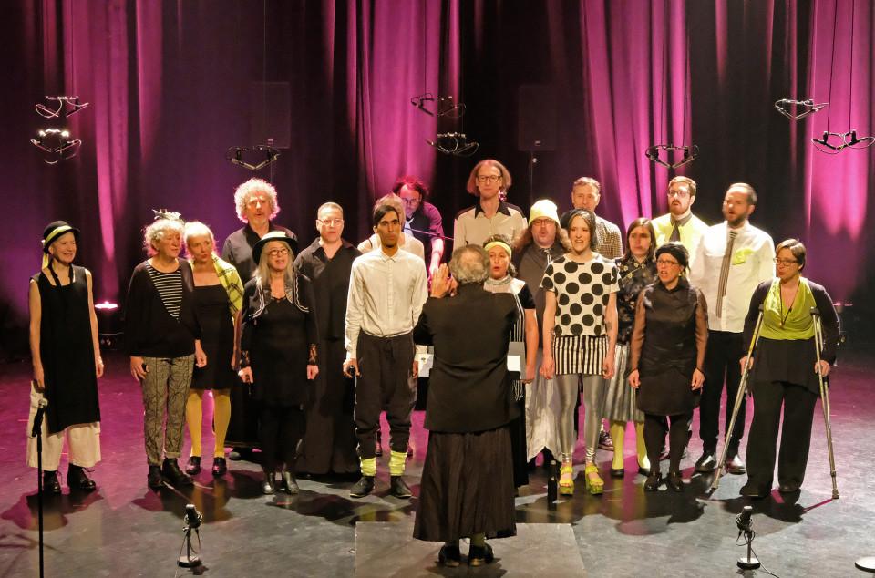 Chorale Joker [Photo: Céline Côté, Montréal (Québec), 5 mars 2020]