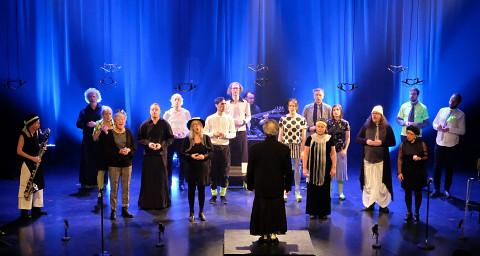 Chorale Joker [Photo: Céline Côté, Montréal (Québec), March 5, 2020]