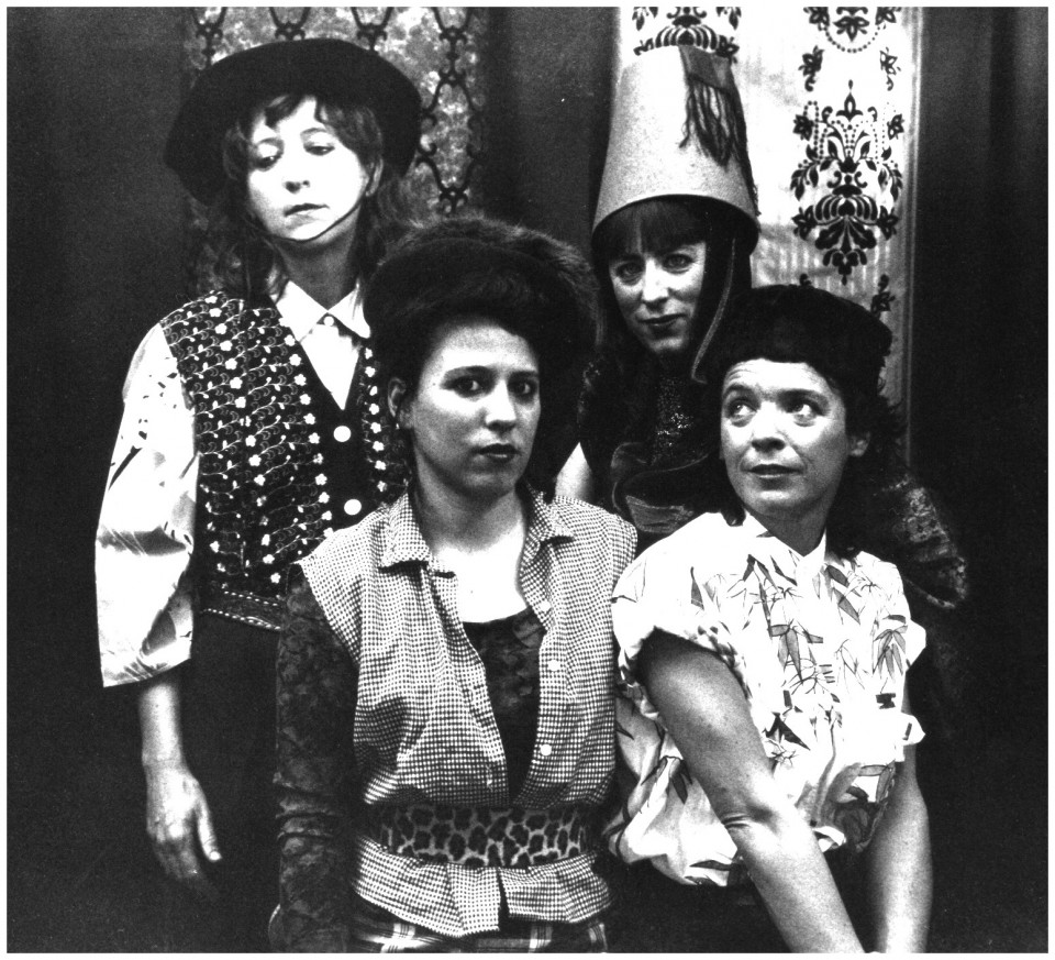 Justine (Danielle Palardy Roger; Joane Hétu; Diane Labrosse; Marie Trudeau) [Photo: Suzanne Girard, mai 1990]