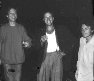 Klaxon Gueule / Aussi sur la photo: Bernard Falaise, Michel F Côté, Alexandre St-Onge