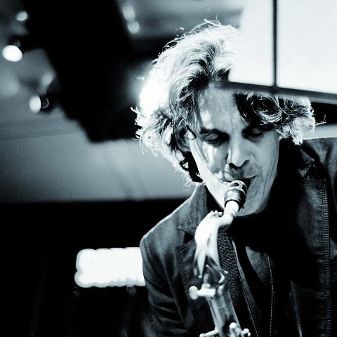 Pierre Labbé en concert [Photo: Patrick Larocque, Montréal (Québec), 10 juin 2009]