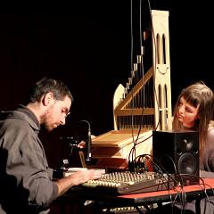 Simon Labbé, Katelyn Clark [Photograph: Céline Côté, Montréal (Québec), October 22, 2017]