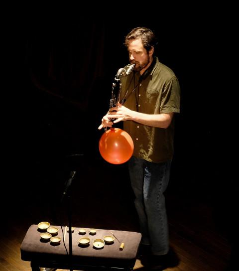Philippe Lauzier / Concert, Chapelle historique du Bon-Pasteur, Montréal (Québec) [Photograph: Céline Côté, Montréal (Québec), June 3, 2021]