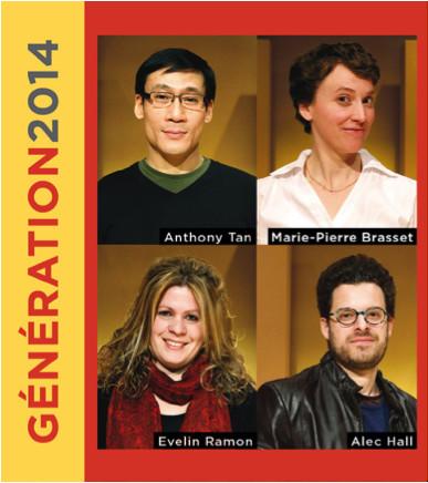 Poster of the Génération2014 tour presented by ECM+