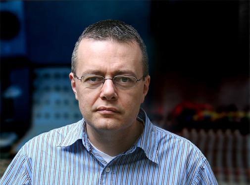 Andrew Lewis (autoportrait) [Photo: Andrew Lewis, 7 mai 2007]