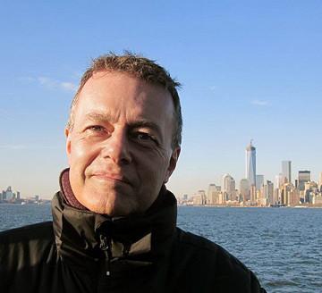 Andrew Lewis (autoportrait) [Photo: Andrew Lewis, New York (New York, ÉU), avril 2013]