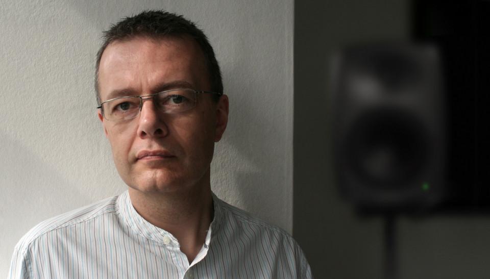 Andrew Lewis (self-portrait) [Photo: Andrew Lewis, Bangor (Wales, UK), 2012]