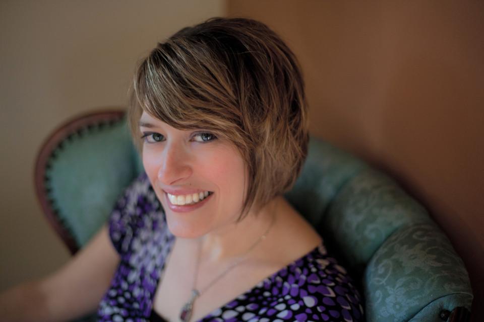 Elainie Lillios [Photograph: AJ Stegall, Bowling Green (Ohio, USA), October 2010]