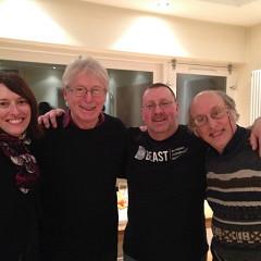 Elainie Lillios, Simon Emmerson, Jonty Harrison, Trevor Wishart [Birmingham (Angleterre, RU), 1 février 2014]