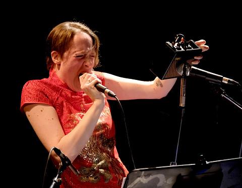 Elizabeth Lima [Photo: Céline Côté, Montréal (Québec), 22 mars 2018]