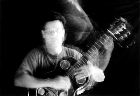 René Lussier [Photo: Pierre Crépô, 1999]
