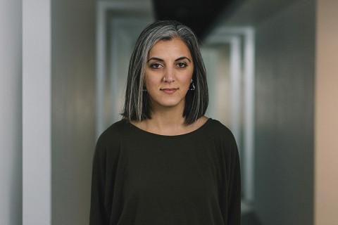 Annie Mahtani [Photo: Greg Milner, Birmingham (England, UK), February 7, 2019]