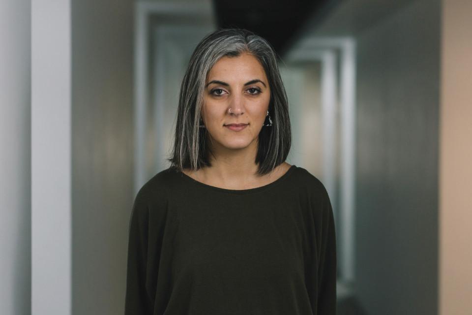 Annie Mahtani [Photograph: Greg Milner, Birmingham (England, UK), February 7, 2019]