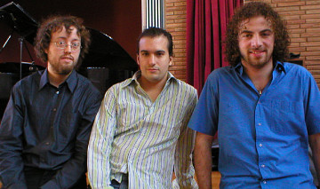 Trio Jean Félix Mailloux / Also pictured: Jean Félix Mailloux, Jonathan Racine-Ménard, Arden Arapyan