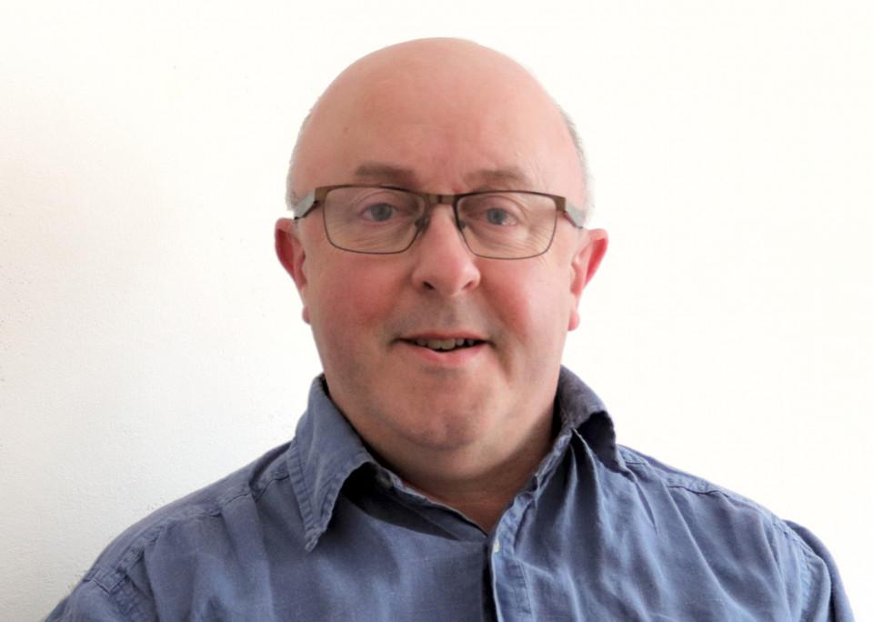 Adrian Moore (self-portrait) [Photo: Adrian Moore, Sheffield (England, UK), May 1, 2020]