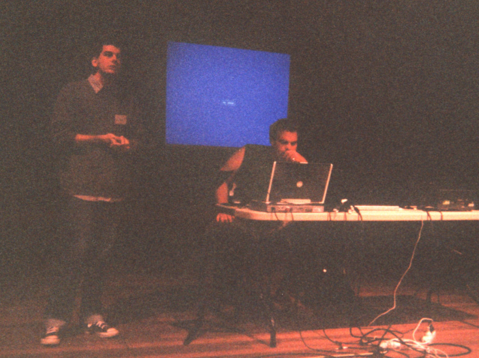 morceaux_de_machines — Artist talk at the Inaugural Totally Huge New Music Festival Conference [Mount Lawley (Western Australia, Australia), October 8, 2005]