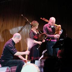 La Nef en concert à l'événement DAME: Archive / mémoire [Photo: Céline Côté, Montréal (Québec), 16 février 2017]