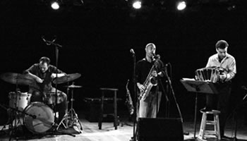 Damián Nisenson, Denis Plante, Isaiah Ceccarelli [Photo: Herb Greenslade, 2007]