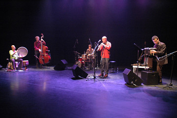 Damián Nisenson Trio (Damián Nisenson, Jean Félix Mailloux, Pierre Tanguay) +3: Luzio Altobelli, Ziya Tabassian, Denis Plante