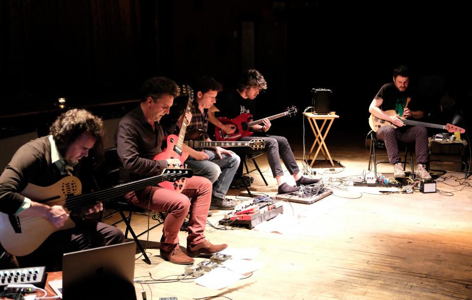 Jack et ses boîtes en concert [Photo: Céline Côté, Montréal (Québec), 30 mai 2017]