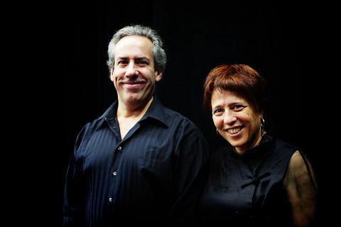 Nous perçons les oreilles, Jean Derome, Joane Hétu [Photograph: Robin Pineda Gould, November 14, 2013]